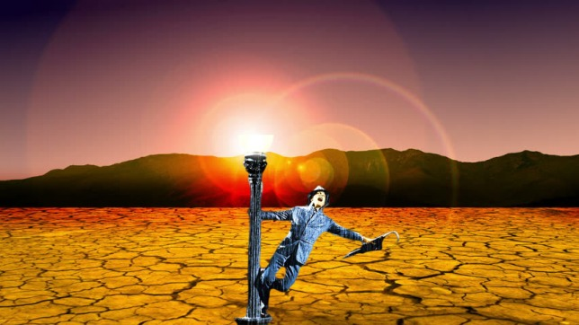 """""""I'm singing in the hot desert"""""""