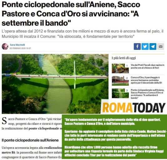 Ponte Ciclopedonale - Zocchi